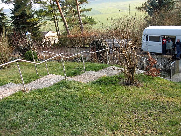 Schlosserei Groß - Geländerkonstruktionen